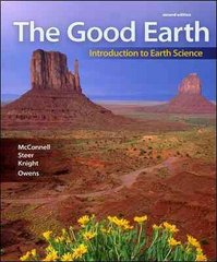 Package: The Good Earth: Introduction to Earth Science with Connect Plus Access Card 2nd edition 9780077405779 0077405773