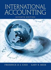 International Accounting 7th edition 9780132996839 0132996839