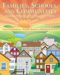 Families, Schools, and Communities 5th edition 9780137035465 0137035462