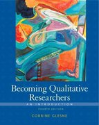 Becoming Qualitative Researchers 4th Edition 9780137047970 0137047975