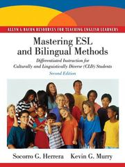 Mastering ESL and Bilingual Methods 2nd Edition 9780137056699 0137056699