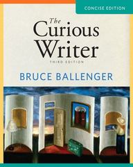 The Curious Writer 3rd edition 9780205780198 0205780199