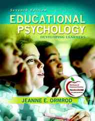 Educational Psychology 7th Edition 9780131381100 0131381105