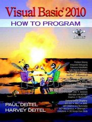 Visual Basic 2010 How to Program 5th Edition 9780132152136 0132152134