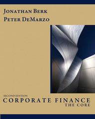 Corporate Finance 2nd edition 9780132153683 0132153688