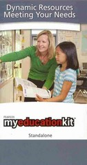 MyEducationKit -- Standalone Access Card 2nd edition 9780137053445 0137053444