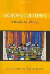 Across Cultures 8th Edition 9780205780372 0205780377