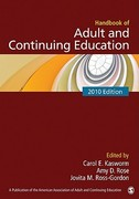 Handbook of Adult and Continuing Education 1st Edition 9781412960502 1412960509