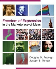 Freedom of Expression in the Marketplace of Ideas 1st Edition 9781452223513 1452223513