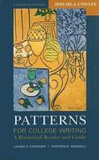 Patterns for College Writing 11e with 2009 MLA Update & CompClass 11th edition 9780312649074 031264907X