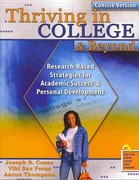 Thriving in College and Beyond 1st edition 9780757567094 0757567096