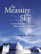 To Measure the Sky 1st edition 9780521747684 0521747686