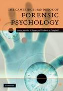 The Cambridge Handbook of Forensic Psychology 1st edition 9780521701815 0521701813