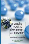 Managing Research, Development and Innovation 3rd edition 9780470404126 0470404124