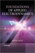 Foundations of Applied Electrodynamics 1st edition 9780470688625 0470688629