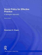 Social Policy for Effective Practice 2nd Edition 9780203834848 0203834844