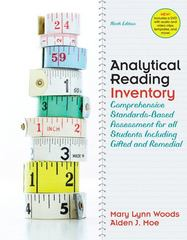 Analytical Reading Inventory 9th Edition 9780137012923 0137012926