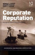 Corporate Reputation 1st Edition 9781409423270 1409423271
