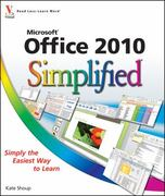Office 2010 Simplified 1st Edition 9780470571941 0470571942