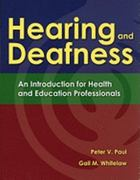 Hearing and Deafness 1st Edition 9781449611088 1449611087