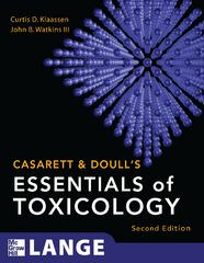 Casarett & Doull's Essentials of Toxicology 2nd Edition 9780071622400 0071622403