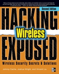 Hacking Exposed Wireless, Second Edition 2nd edition 9780071666619 0071666613