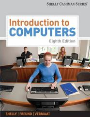 Introduction to Computers 8th edition 9781439081310 143908131X
