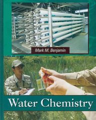 Water Chemistry 1st edition 9781577666677 1577666674