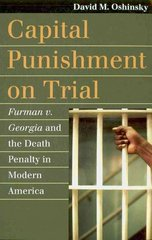 Capital Punishment on Trial 1st Edition 9780700617111 0700617116