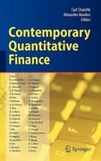 Contemporary Quantitative Finance 1st edition 9783642034787 3642034780