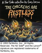 The Chickens Are Restless 0 9780836217179 0836217179