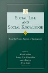 Social Life and Social Knowledge 0 9780415963404 0415963400