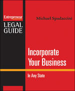 Incorporate Your Business: In Any State 1st edition 9781599181066 1599181061