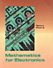 Mathematics for Electronics 1st edition 9780314012661 0314012664