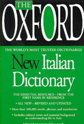 The Oxford New Italian Dictionary 1st Edition 9780425216736 042521673X