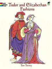 Tudor and Elizabethan Fashions 0 9780486413204 0486413209