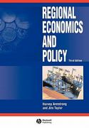 Regional Economics and Policy 3rd edition 9780631217138 0631217134