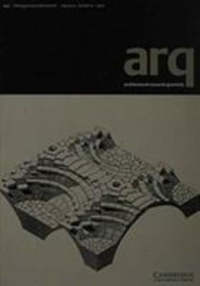 Architectural Research Quarterly 1st edition 9780521794138 0521794137