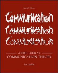 A First Look at Communication Theory 7th edition 9780073385020 0073385026