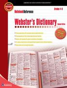 Webster's Dictionary, Grades 4-8 2nd edition 9780769643410 0769643418