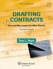 Drafting Contracts 2nd Edition 9780735594777 0735594775