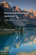 Multilateral Environmental Agreements 1st edition 9780521883283 0521883288