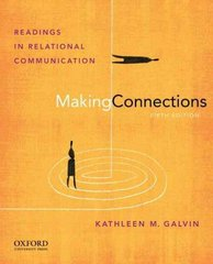 Making Connections 5th Edition 9780199733811 0199733813