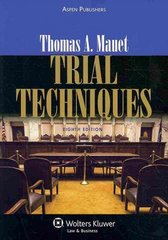 Trial Techniques 8e 8th Edition 9780735594418 0735594414