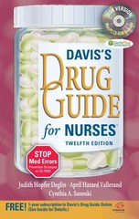 Davis's Drug Guide for Nurses + Resource Kit CD-ROM 12th edition 9780803623088 0803623089