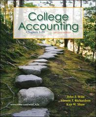 College Accounting : Chapters 1-29 2nd edition 9780078136672 0078136679