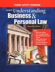 Understanding Business and Personal Law, Student Activity Workbook Student Edition 11th edition 9780078275142 0078275148