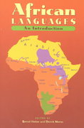 African Languages 1st Edition 9780521666299 0521666295