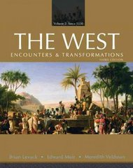 The West 3rd edition 9780132132862 0132132869