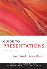 Guide to Presentations 3rd edition 9780137075089 0137075081